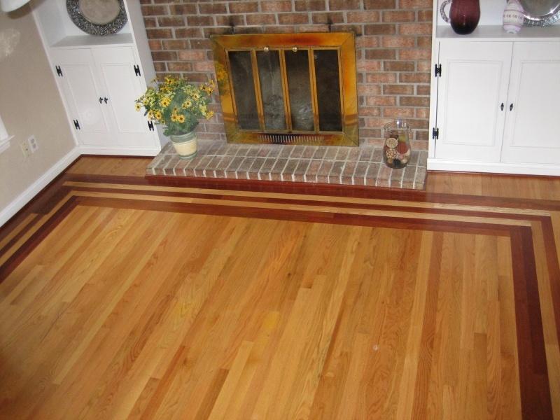 Wood Floor Borders